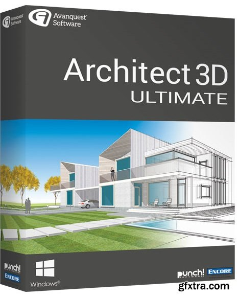 avanquest architect 3d ultimate 2018 20 0 download free best file. Black Bedroom Furniture Sets. Home Design Ideas
