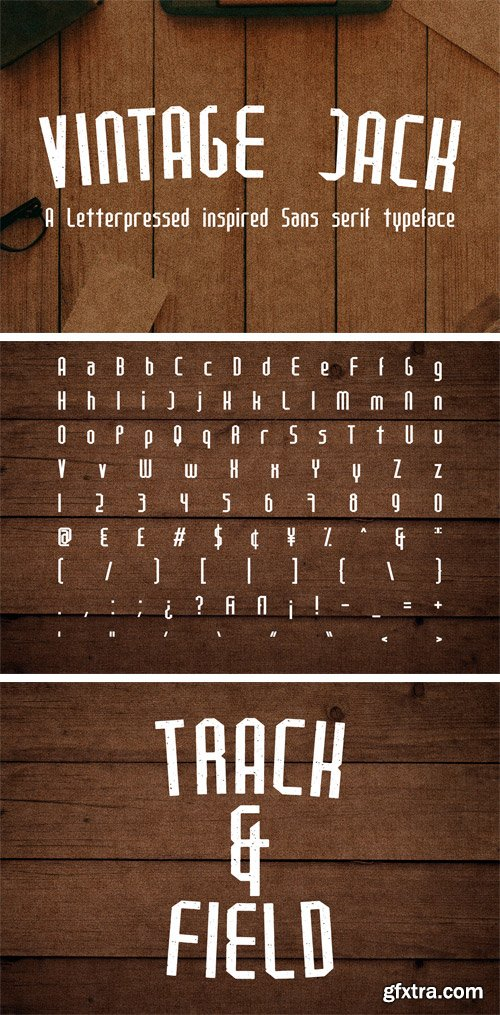 Fontbundles - Vintage Jack 15415
