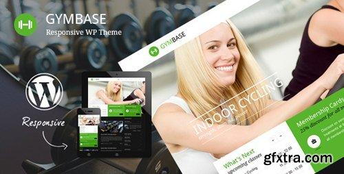 ThemeForest - GymBase v12.1 - Responsive Gym Fitness WordPress Theme - 2732248