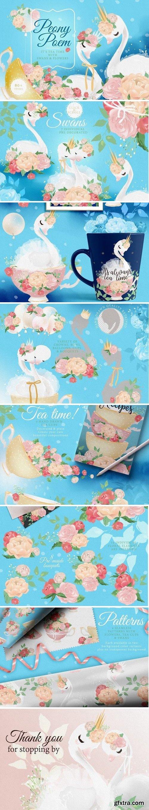 CM - Peony Poem - Tea Time 2421335