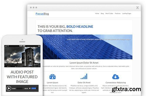ThriveThemes - FocusBlog v1.401.1 - WordPress Theme - NULLED