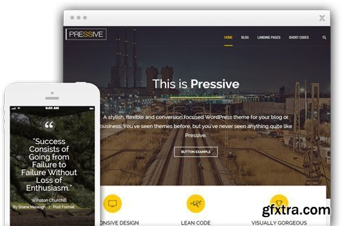 ThriveThemes - Pressive v1.401.1 - WordPress Theme - NULLED