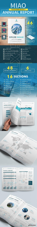 GraphicRiver - Annual Report - MIAO 22993865