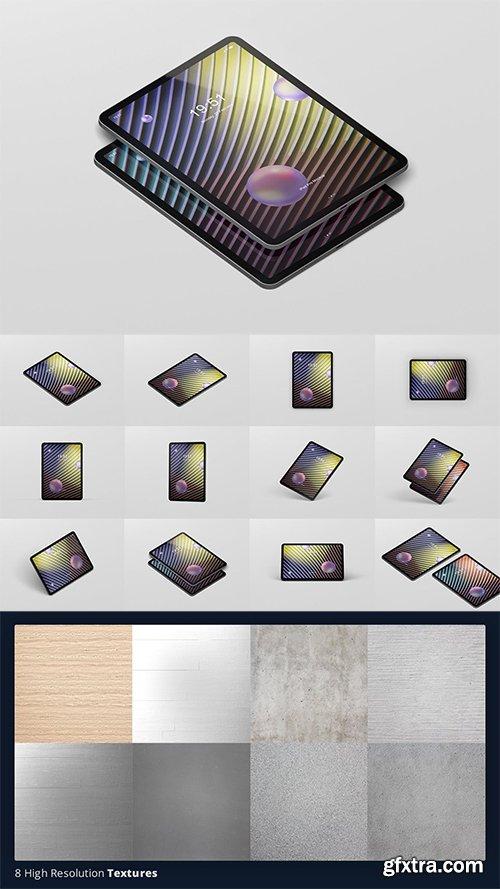 Pad Pro Tablet Screen Mockup