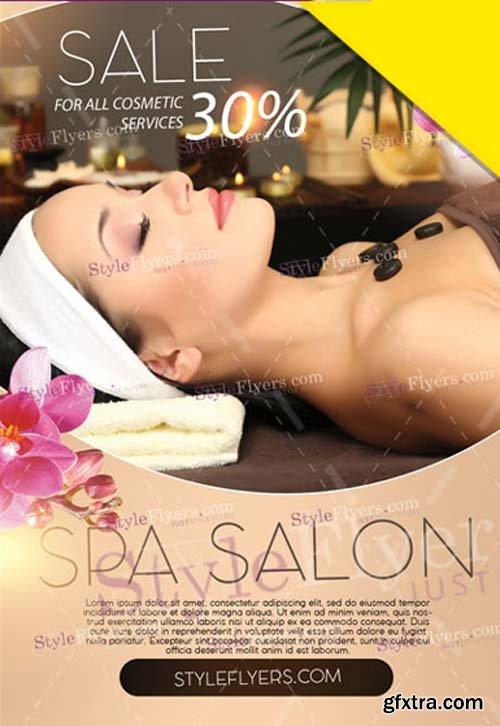 Spa Salon V1 2019 Flyer PSD