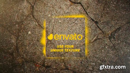 Videohive Spray Paint Logo Reveal 12790467