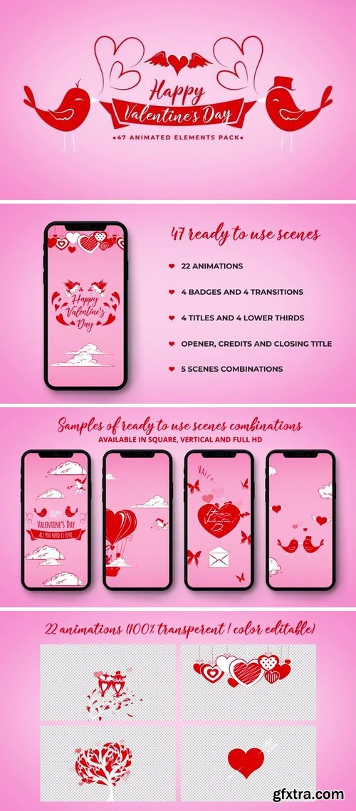 MotionArray Valentine Day Toolkit 164214