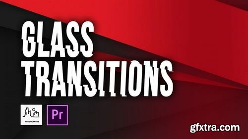 MotionArray Glass Transitions Premiere Pro Presets 163989
