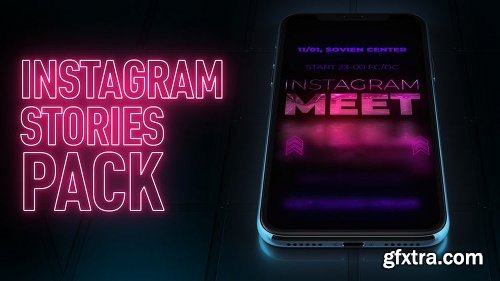 MotionArray Instagram Stories Event Pack 163710