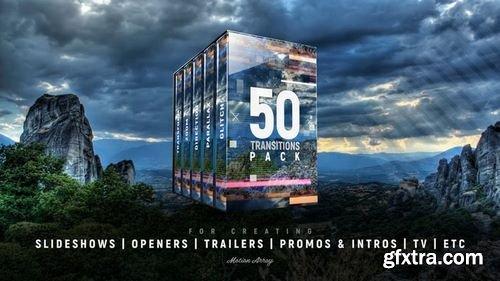 MotionArray 50 Transition Pack 43447
