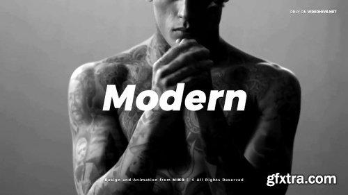 Videohive Modern Fashion Typo Opener 21403549
