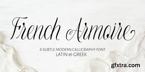 French Armoire Font