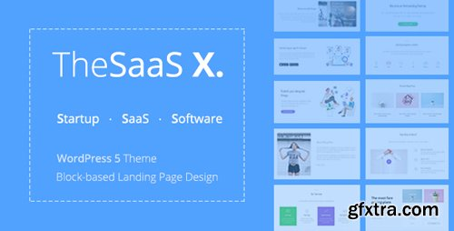 ThemeForest - TheSaaS X v1.0.1 - Responsive SaaS, Startup & Business WordPress Theme - 20136366