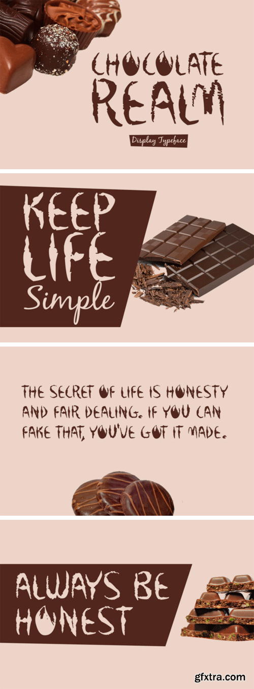 Chocolate Realm Font