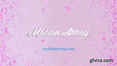 MotionArray Hearts Logo 164151