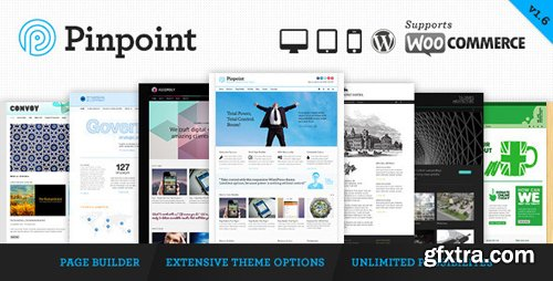 ThemeForest - Pinpoint v1.7.30 - Responsive Multi-Purpose WP Theme - 3760530