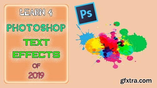 Learn Text Effects in Photoshop | Water color effect | Portrait | Water drops | Exposure Effects