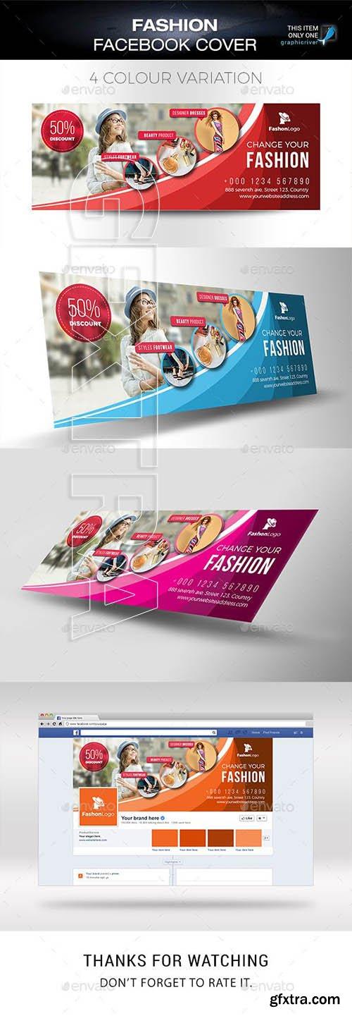 GraphicRiver - Fashion Facebook Cover 23137999