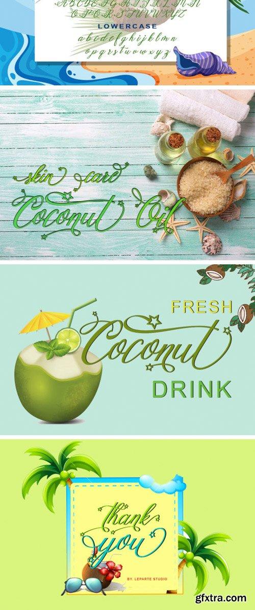 Coconut Font