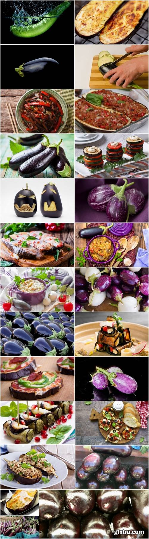 Eggplant vegetable dish salad 25 HQ Jpeg
