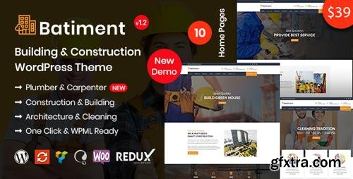 ThemeForest - Batiment v1.1 - Construction & Building WordPress Theme - 22094943