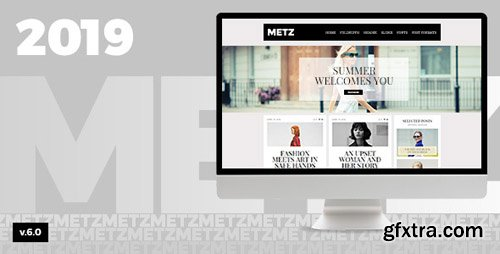 ThemeForest - Metz v6.0 - A Fashioned Editorial Magazine Theme - 11269863