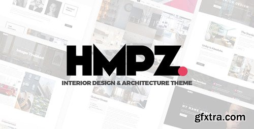 ThemeForest - Hampoz v1.1.3 - Responsive Interior Design & Architecture Theme - 21485108