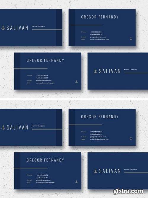 Salivan Business Card Template