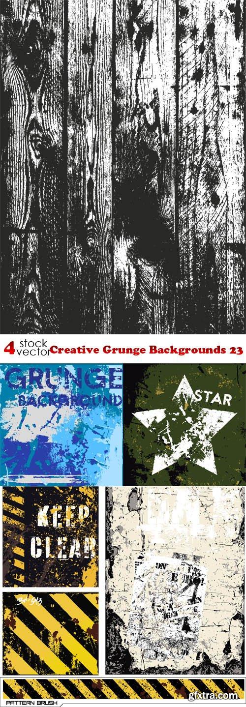 Vectors - Creative Grunge Backgrounds 23