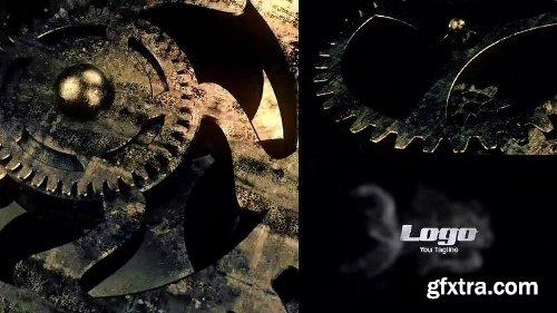 MotionArray Gear Logo Reveal 164928
