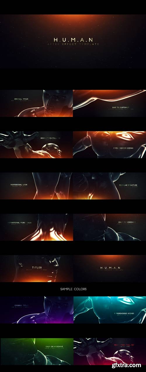 Videohive - Human - Original Titles - 12958324