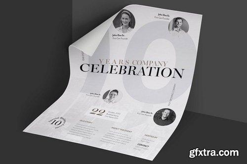 Elegant & Clean Business Event Flyer Poster