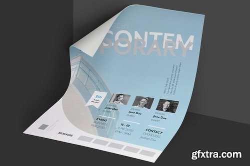 Clean and Minimal Business Architect Event Flyer