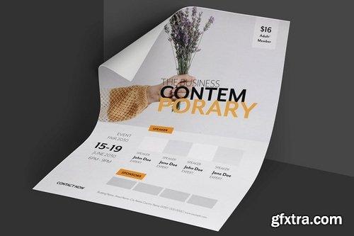 Clean & Minimal Creative Event Flyer