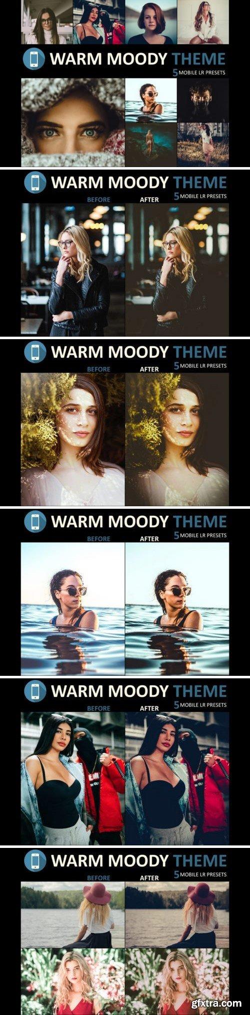 Neo Warm Moody mobile lightroom presets