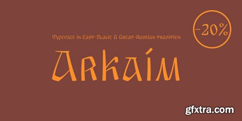 Arkaim Font
