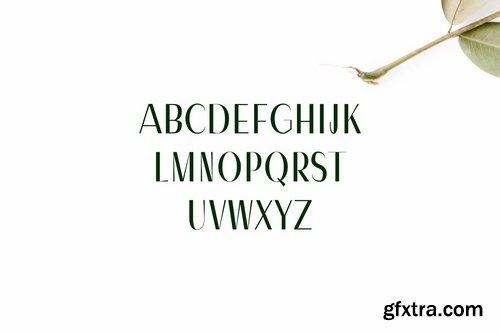CM - Severn Sans Serif Font Family 1701519