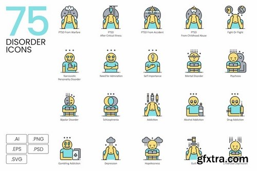 1400+ Icons - Aqua Vector Bundle