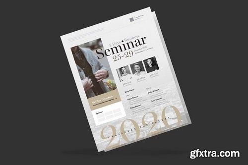 Elegant Business Event Flyer Poster