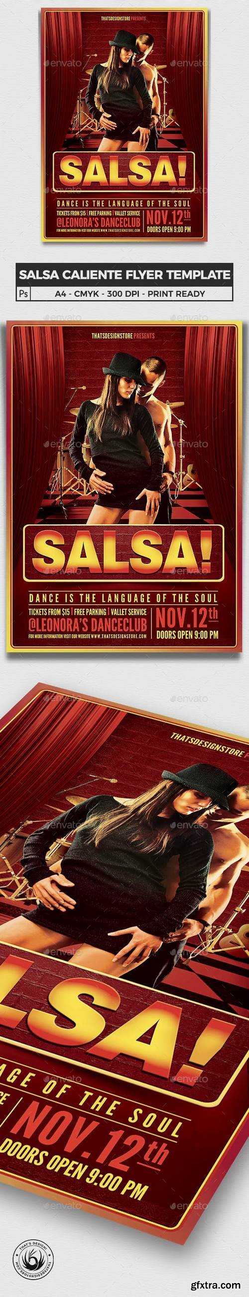 Graphicriver - Salsa Caliente Flyer Template 6251593 - Updated !