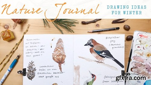 Nature Journal: Drawing Ideas For Winter