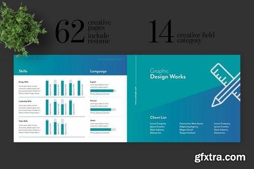 Creative Works and Graphic Designer Portfolio