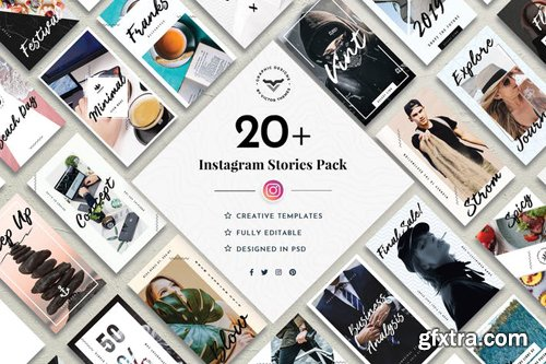 Instagram Stories Social Media Template - HQ4G5D