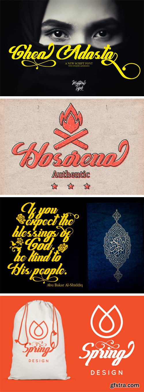 Ghea Adasta Script Font