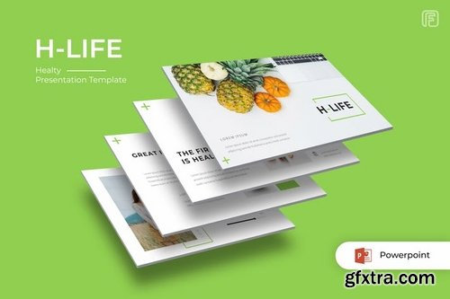 H-life Healty - Powerpoint Keynote and Google Slides Templates