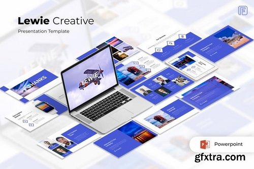 Lewie - Powerpoint Keynote and Google Slides Templates