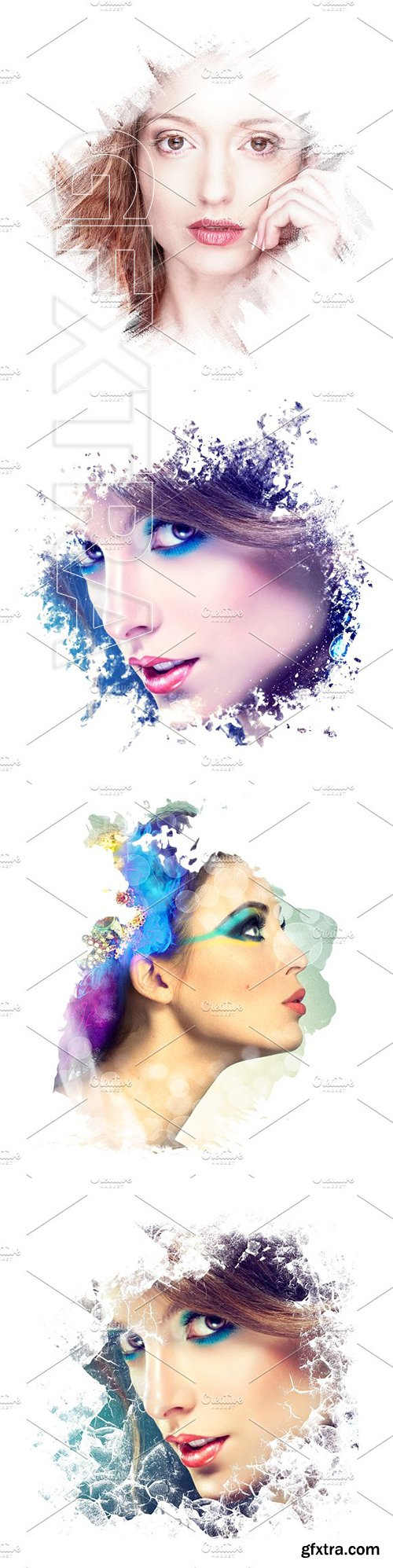CreativeMarket - Artistic Photo Frames 3306027