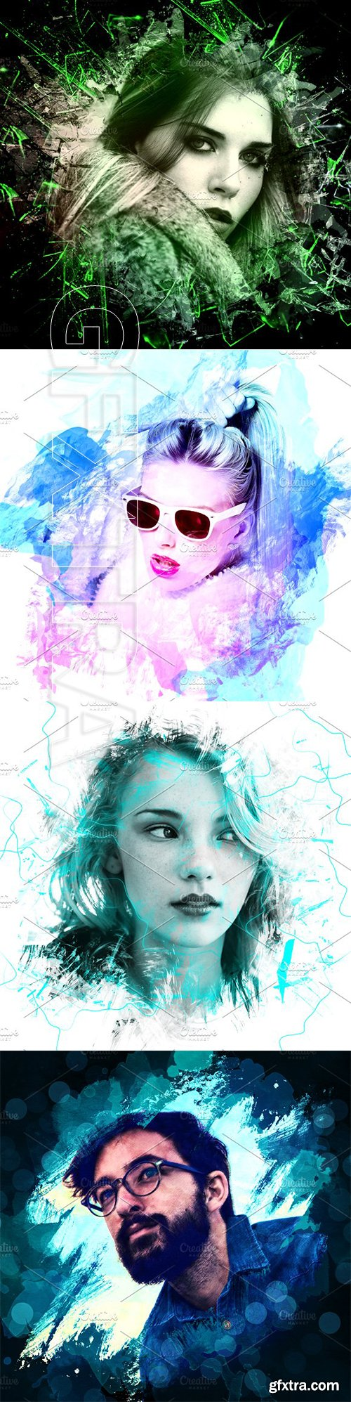 CreativeMarket - Artistic Photo Frames 3306034