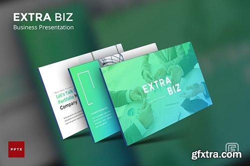 Extra Biz Business Powerpoint, Keynote, Google Slides