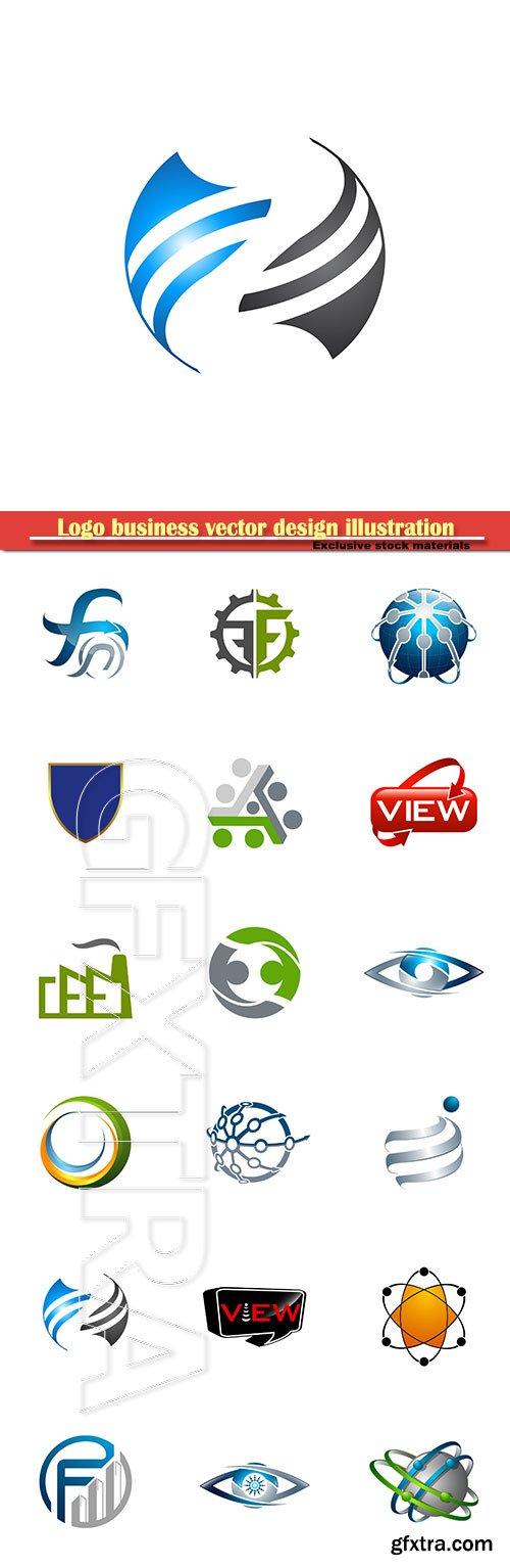 Logo business vector design illustration # 28